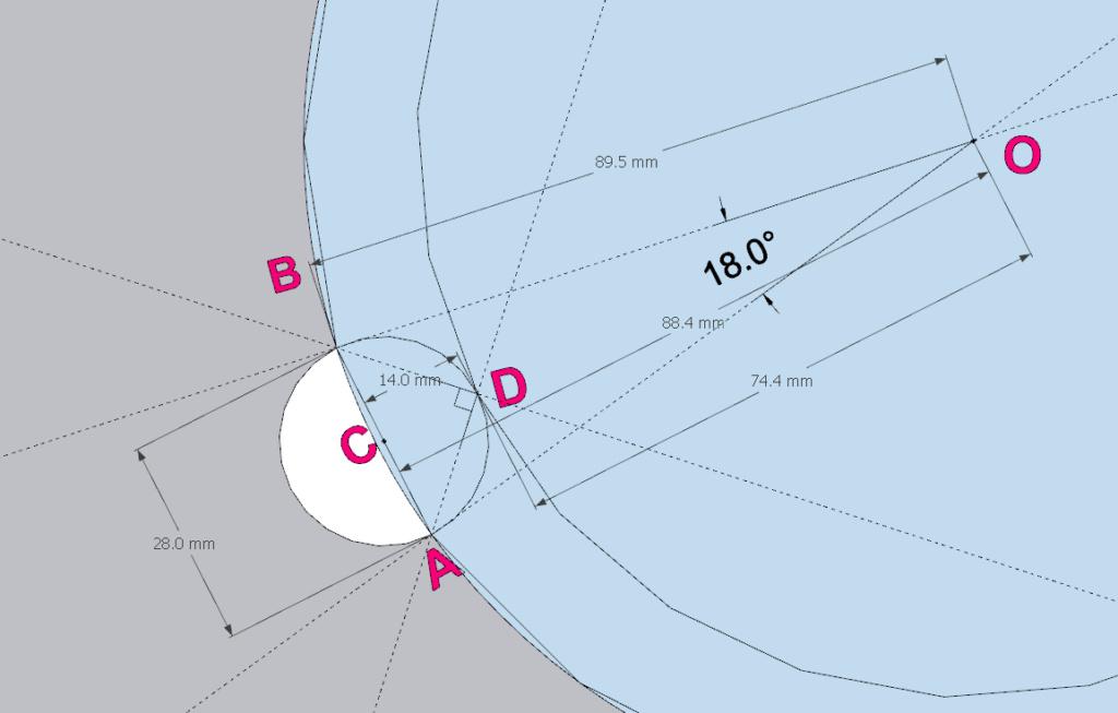[ SKETCHUP généralité ] Plusiseurs anneaux sur le comntour d'un cercle Calcul14