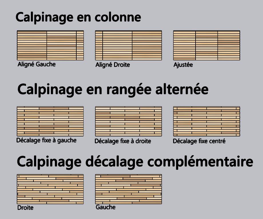 [ SKETCHUP composants dynamiques ] Composant Parquet dynamique Cadeau Calpin11