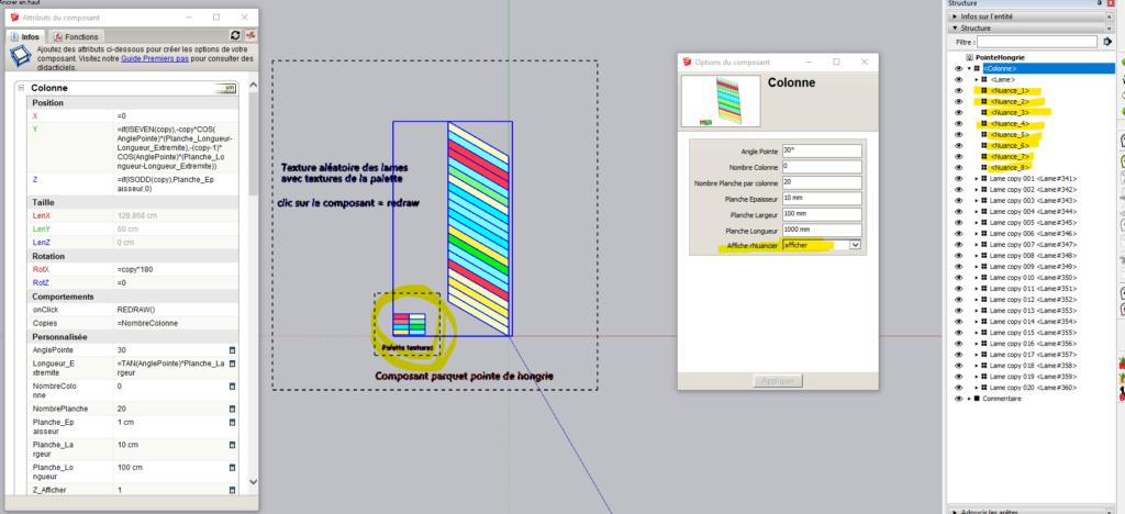 [ SKETCHUP généralité ]  Rendre unique copies de composants Captur13
