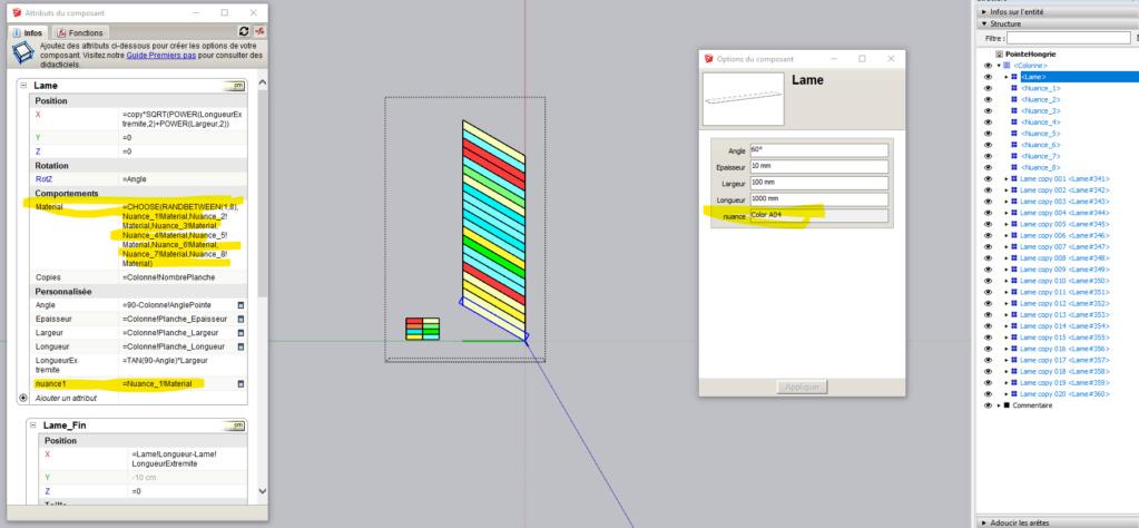 [ SKETCHUP généralité ]  Rendre unique copies de composants Captur14