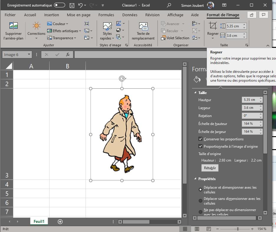 [ AUTRES LOGICIELS ] Excel Image Homothétique Imager10