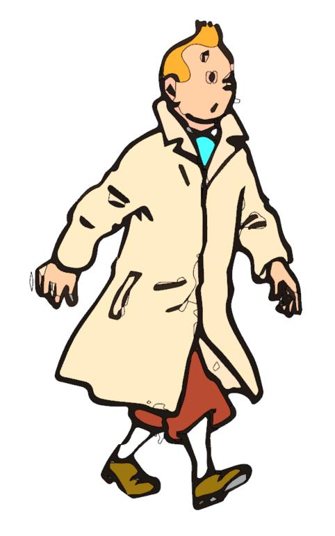 [ SKETCHUP généralité ] Vectorisation Image Tintin13
