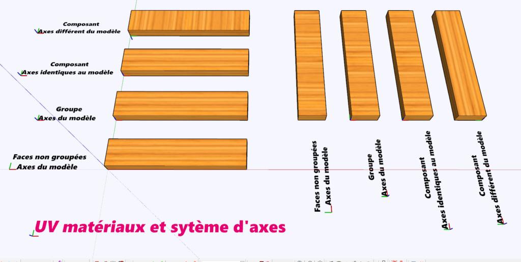 [ SKETCHUP composants dynamiques ]  Matières Uv_mat10