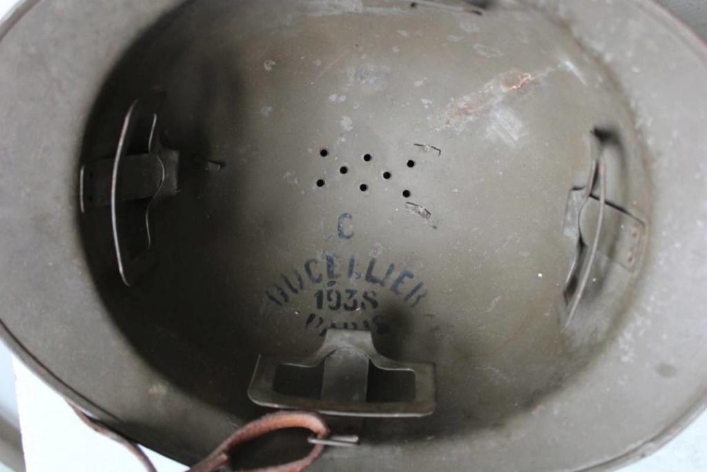 Casque adrian modele 26 artillerie de 1938 H-800-18