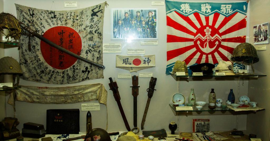 musée 39-45  Ambleteuse près de Boulogne sur mer Japon11
