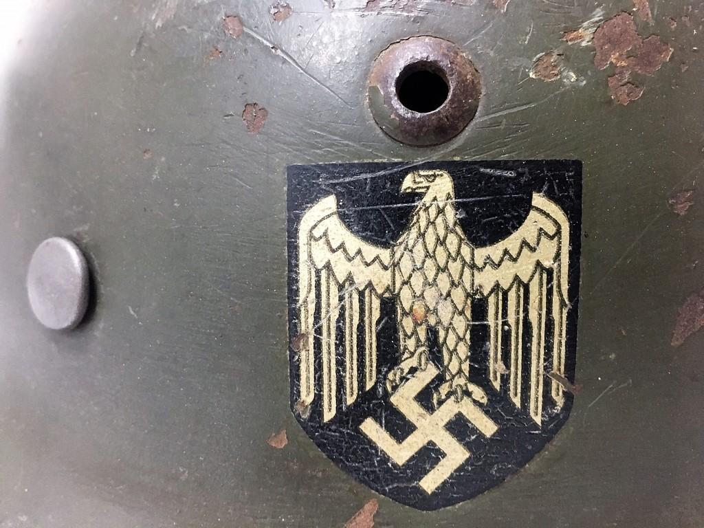 Casque Heer typique de la Wehrmacht - Page 3 Thumbn87