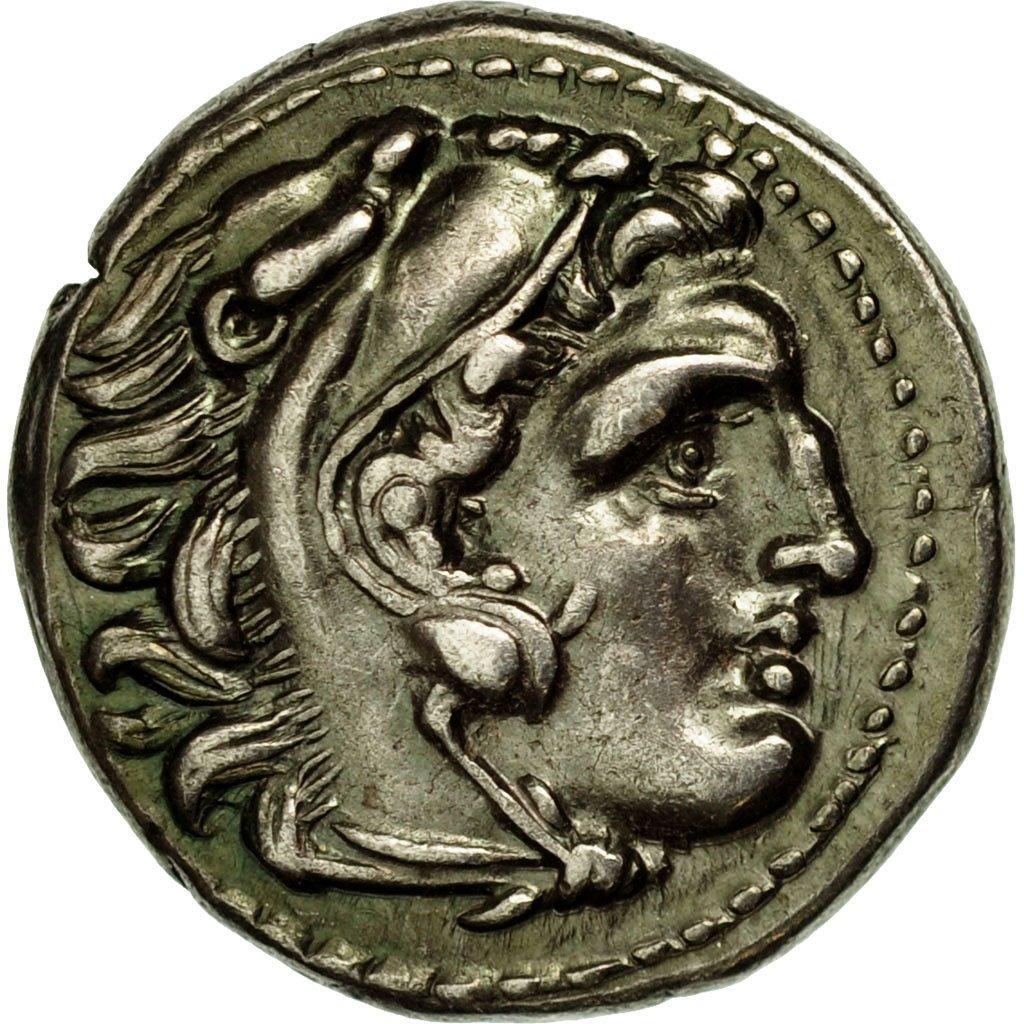 Drachme Alexandre III Lampsaque Drachm10