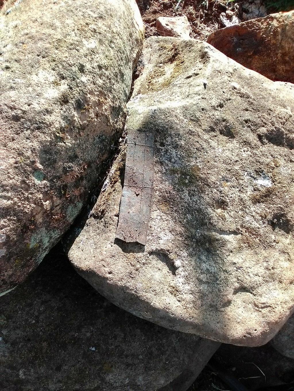Flecha hallada en noria 35564310