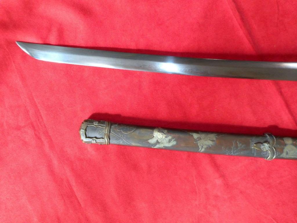 Katana de cérémonie d'officier d'infanterie japonais 11701813
