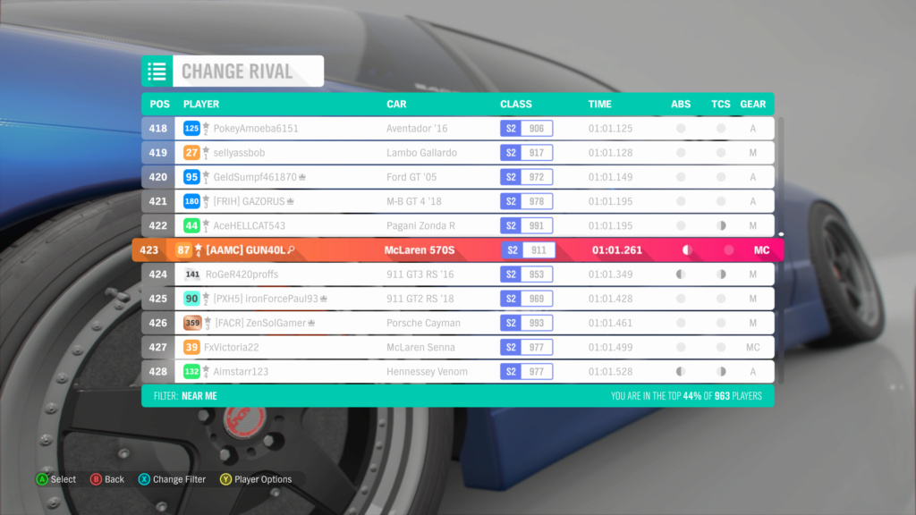 FH4 Time Attack | Lakehurst Copse Circuit - 600hp(AWD/RWD/FWD) 12-08-10
