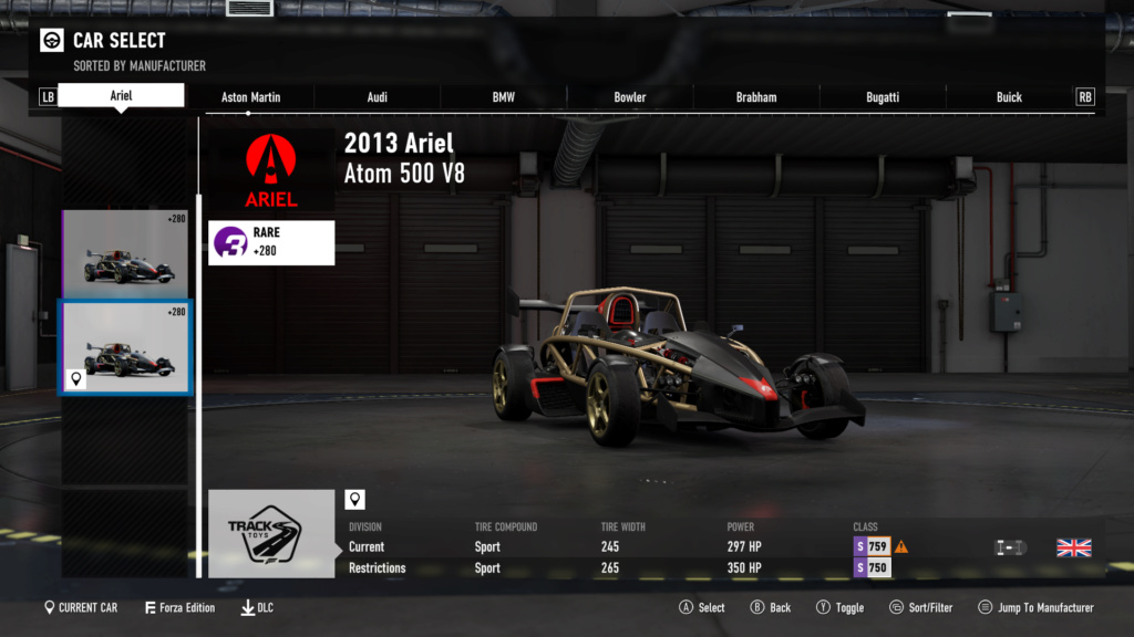 FM7 Time Attack | 300 HP (FWD/RWD/AWD) - Mugello Club 21-07-11