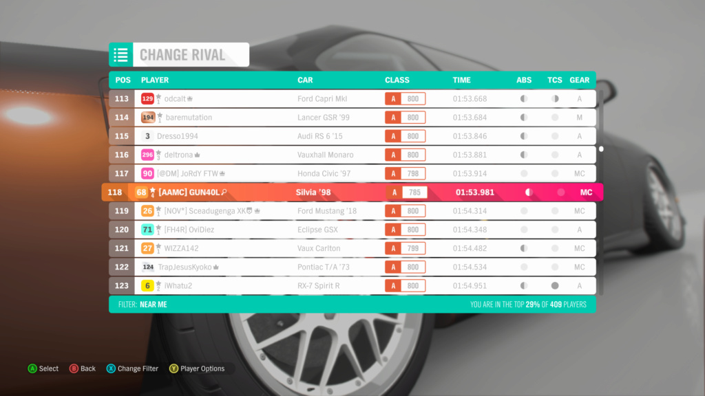 FH4 Time Attack | Ambleside Sprint - 300hp(FWD/RWD) 21-07-13