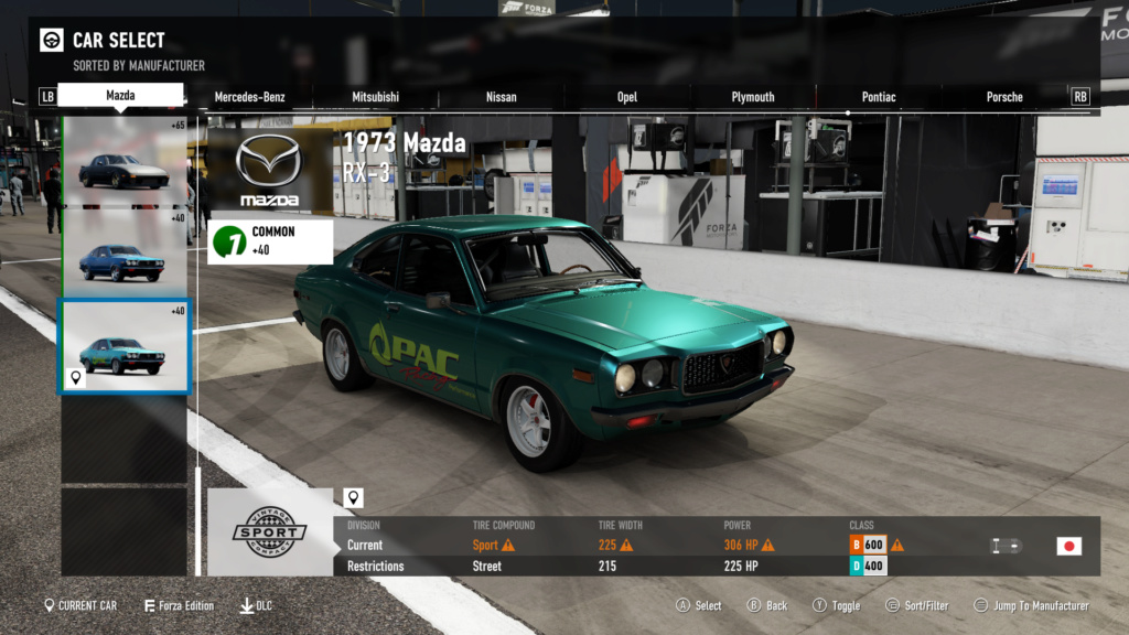 FM7 Time Attack | B Class (FWD/RWD/AWD) - Daytona Infeild Short(Night) 26-08-10