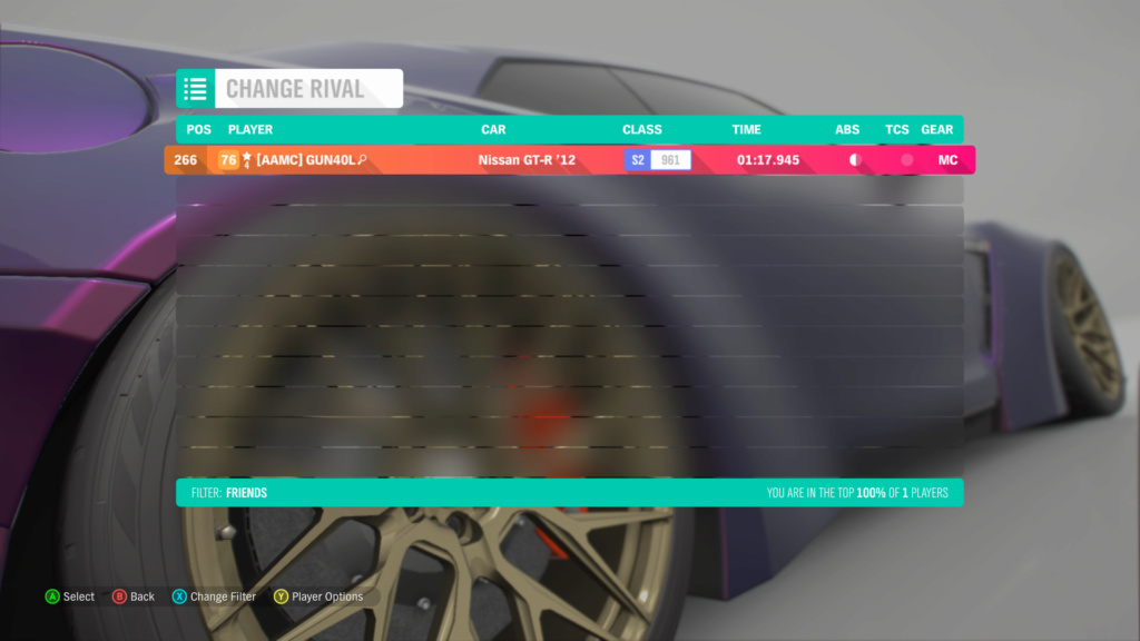 FH4 Time Attack | Horizon Festival Sprint - Open (FWD/RWD/AWD) 28-07-12