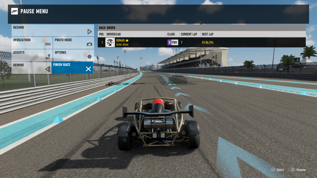 FM7 Time Attack | 300 HP (FWD/RWD/AWD) - Yas Marina South Circuit 3-08-212