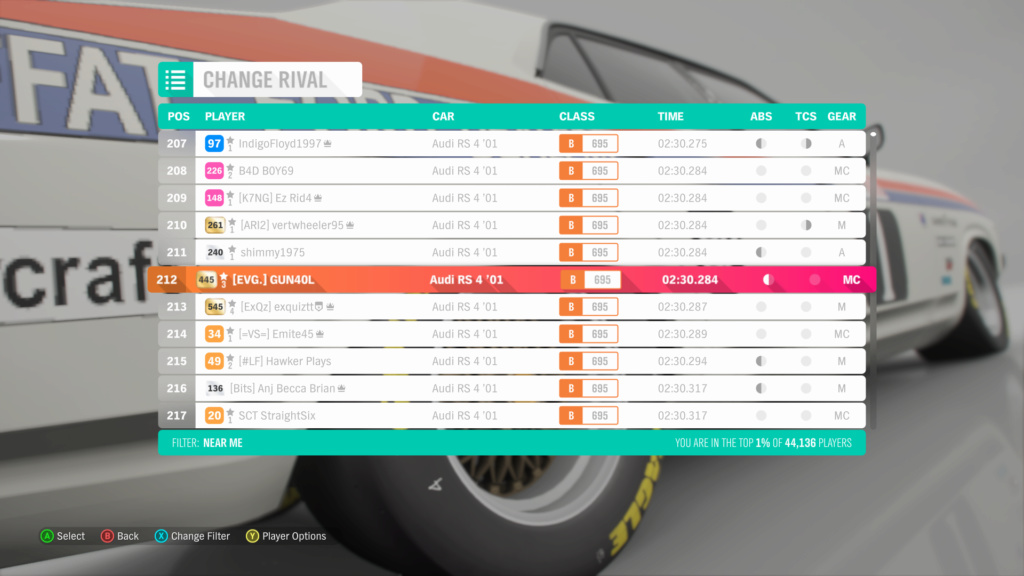 FH4 Time Attack | Dirt Racing Rivals - White Horse Hill Trail (Audi RS4 '01) 4-06-211