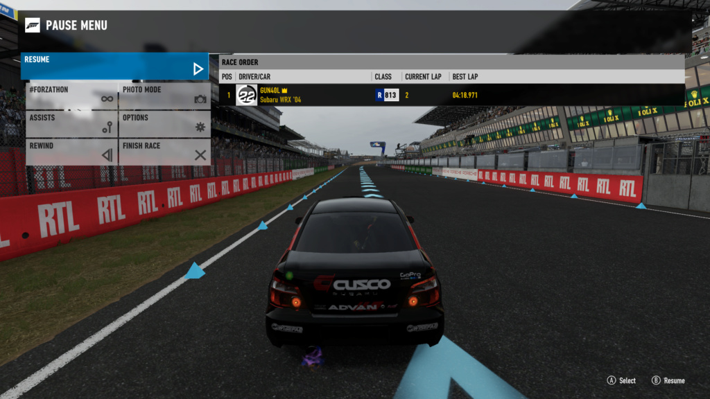 FM7 Time Attack | 500 HP (FWD/RWD/AWD) - Le Mans Full Circuit 5-06-213