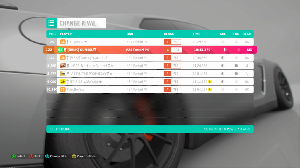 FH4 Time Attack | Road Racing - The Goliath - #24 Ferrari P4 Img_5910