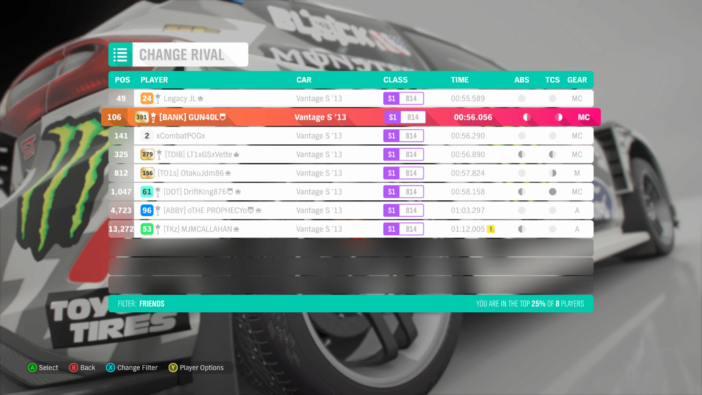 FH4 Time Attack | Road Racing Rivals - Greendale Club Circuit Img_e711