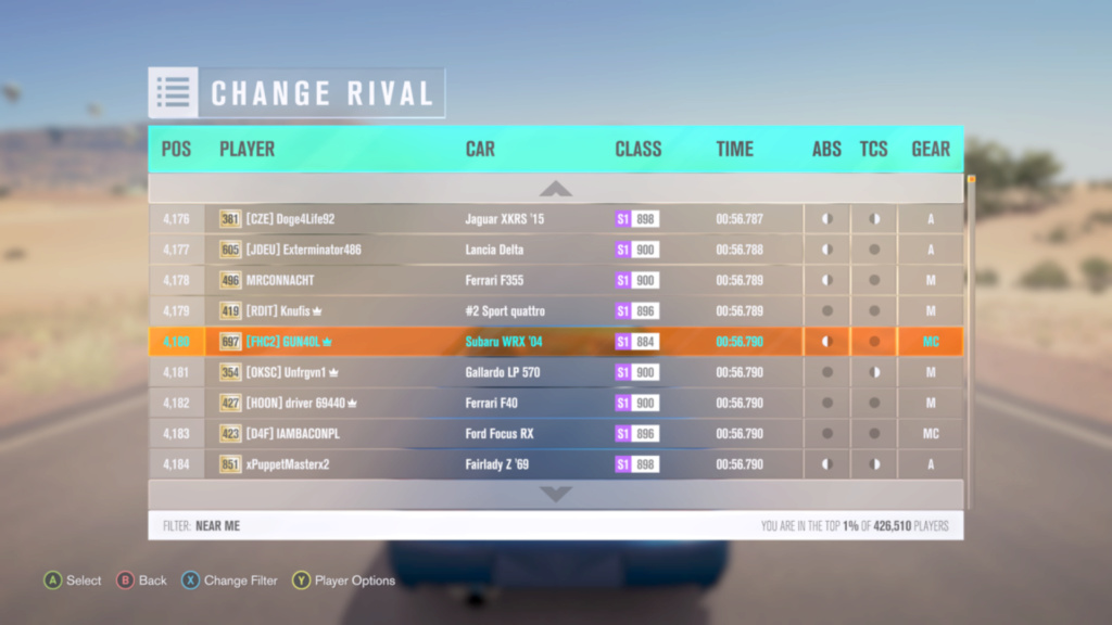 FH3 Time Attack | Figure Eight Desert Circuit - 400HP (FWD/RWD/AWD) Img_ee10