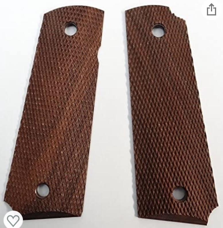 WTB 1911 GRIPS,HERRETTS, Checkered Walnut  D5a16310