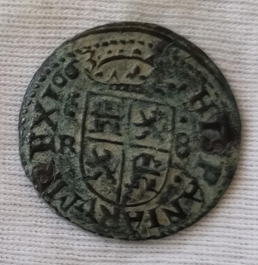 8 maravedís Felipe IIII  1663 ceca?? Img_2134