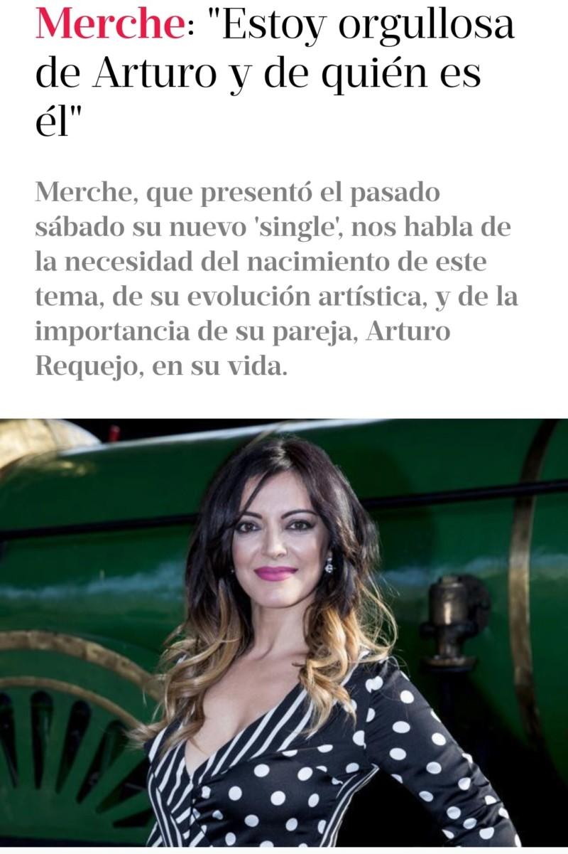 """Merche >> álbum """"Es ahora"""" >> single """"Este lunes"""" - Página 3 20190615"""
