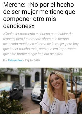 """Merche >> Single """"Lo que me de la gana"""" - Página 6 20190727"""