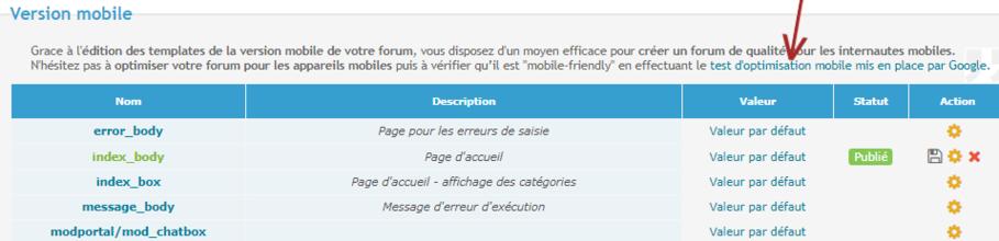 Important à savoir pour le référencement de votre forum forumactif : Version mobile Optimi10