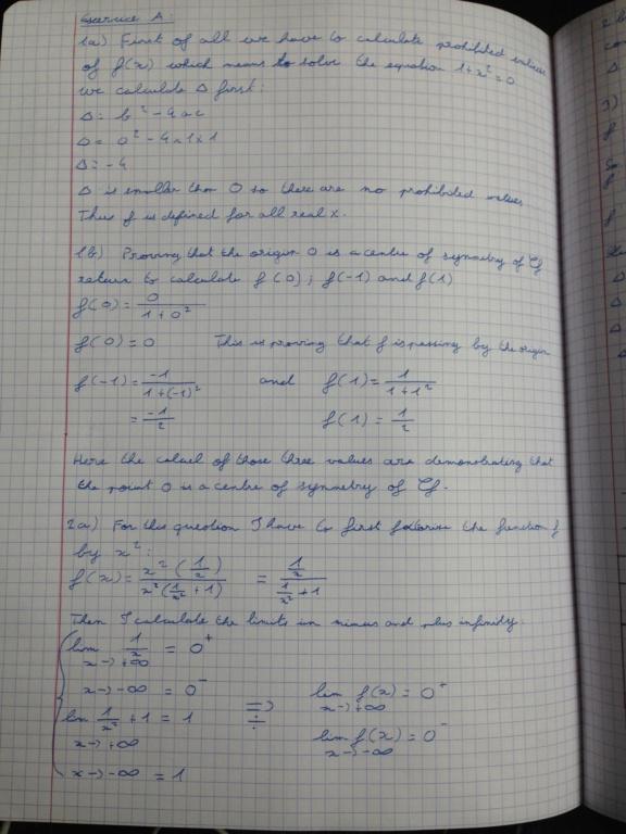 Les limites de fonctions et les dérivées  Img_0410