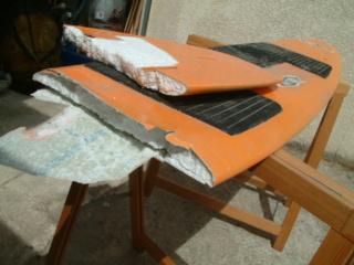 Mes premières boards développées pour remonter au vent en école Planch10