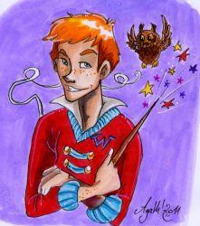 Jeu des dessins HP! ^^ - Page 33 Weasle10