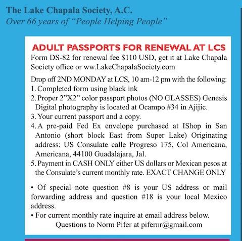 Passport renewal information please Lcspas13