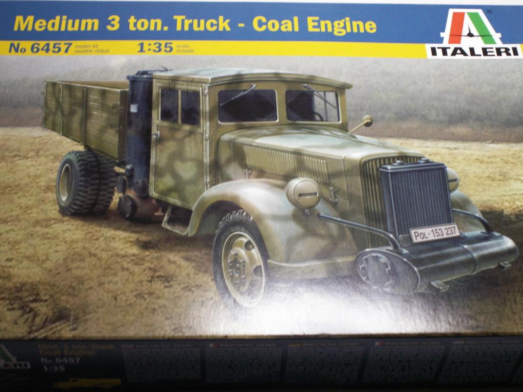 Medium 3 ton. Truck - Coal engine 1:35 Italeri  Pict0180