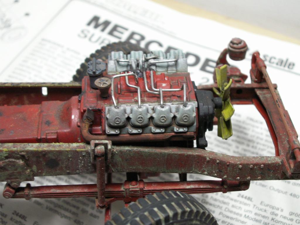 (concours Wrecked 2019 ) Mercedes-benz 2448 Italeri 1/24