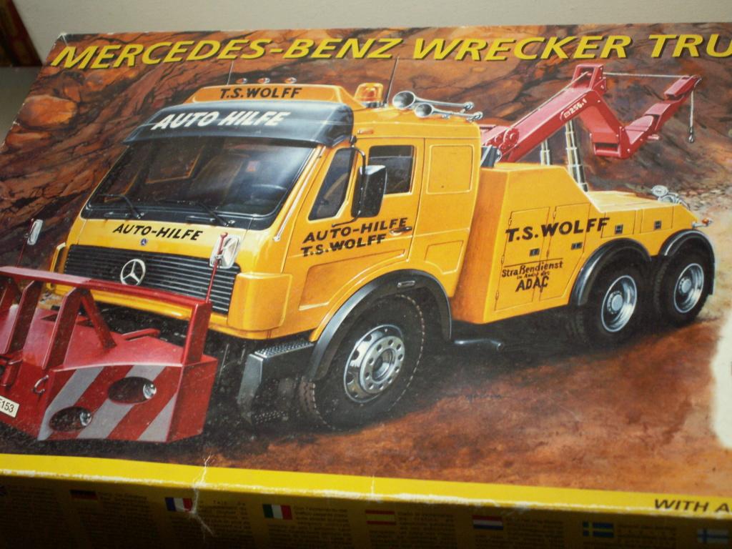 Mercedes-Benz 2448 Italeri 1/24 Pict5633