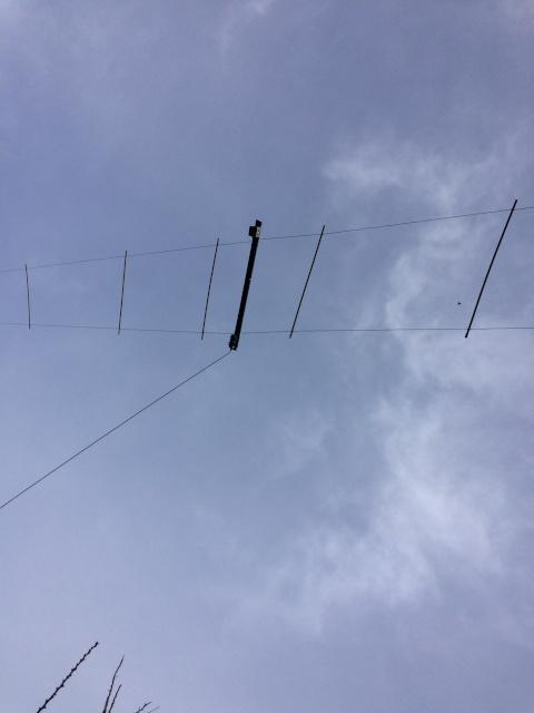 Réalisation d'une antenne W3HH Centra11