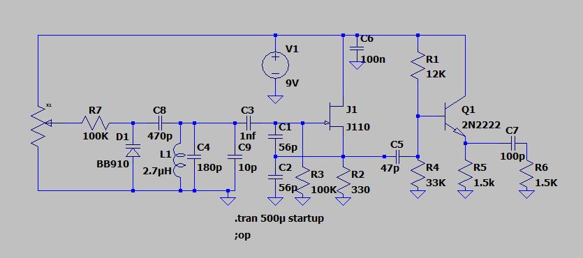 Projet (encore très vague mais ça ce précise) de tranceiver 20m Vfo110
