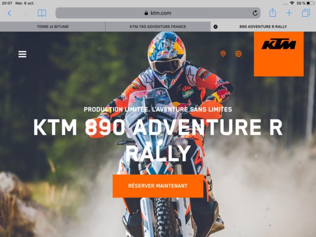 """KTM 790 Adventure """"R"""" et pas """"R"""" Dd7bca10"""