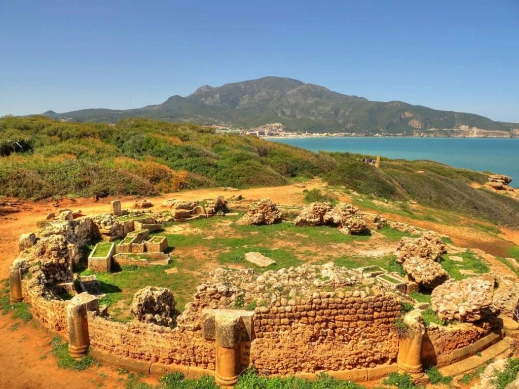 Ppa noel en Algérie Ruines12