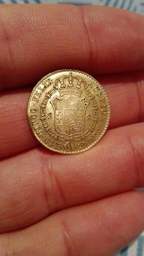 ¿Moneda real? ¿1827 o 1828? Whatsa11