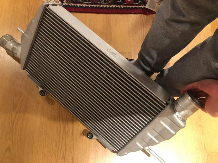 Very Clean EVO X Front Mount Intercooler OEM - À Vendre!! 52130010