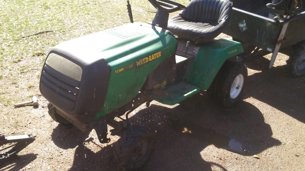 "1999 WeedEater Mowing Mower Build ""Sodzilla"" - Page 5 20190315"