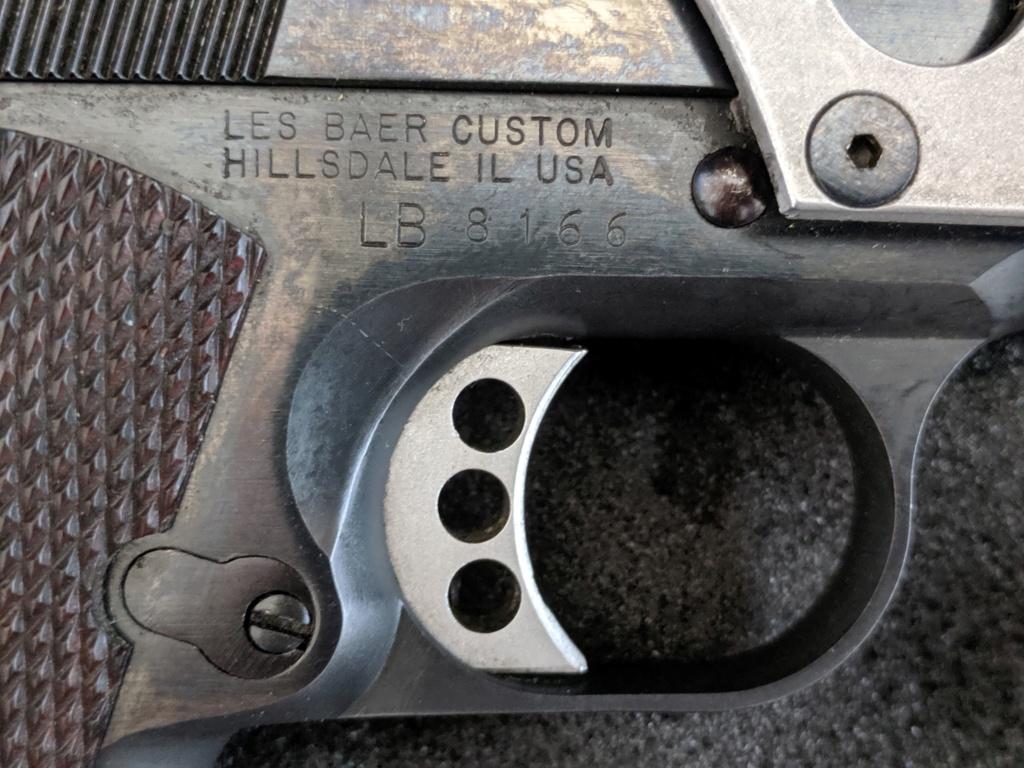 SOLD, pending funds - Les Baer Custom 1911 Bullseye Wadcutter Pistol Img_2102
