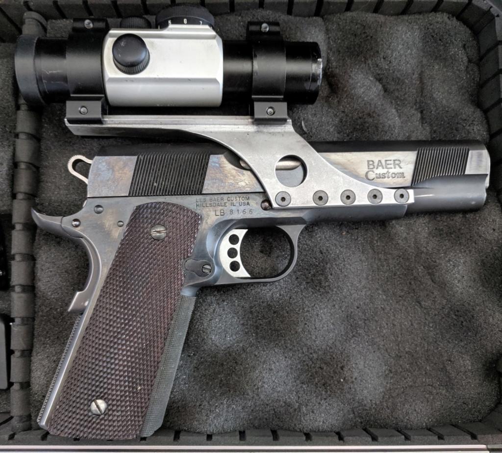 SOLD, pending funds - Les Baer Custom 1911 Bullseye Wadcutter Pistol Img_2103
