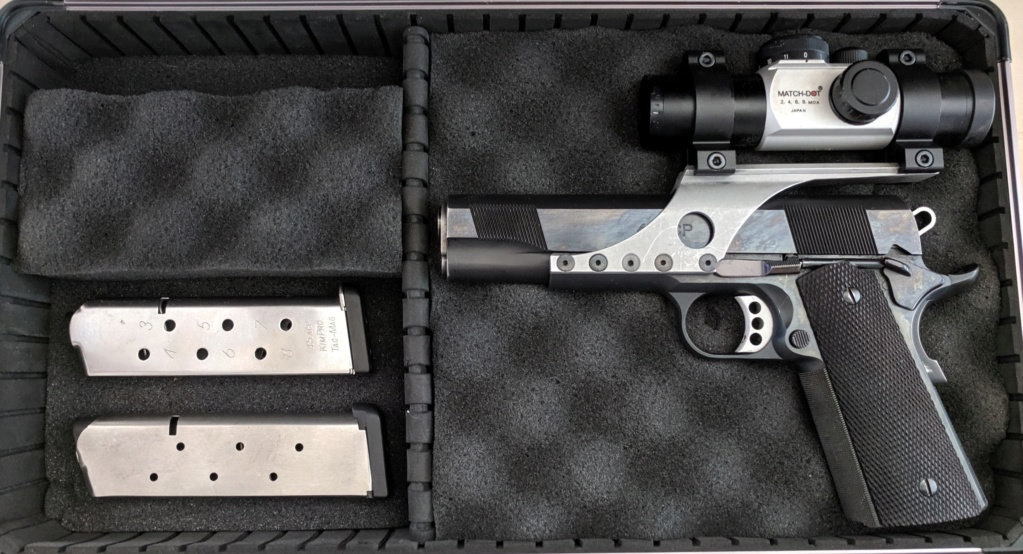 SOLD, pending funds - Les Baer Custom 1911 Bullseye Wadcutter Pistol Img_2109