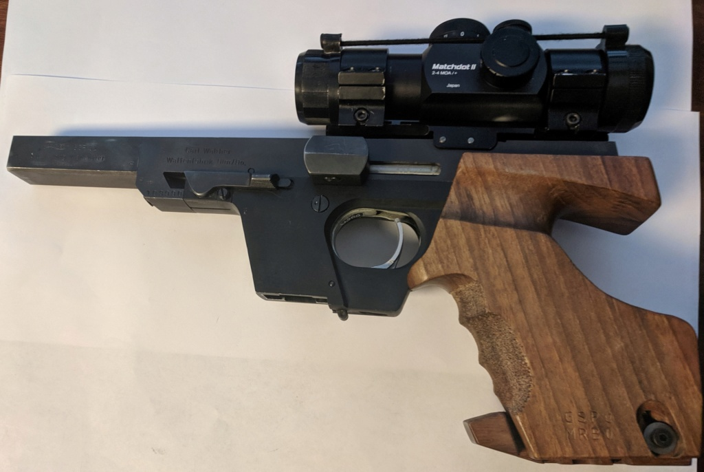 SPF Walther GSP 32 S&WL Rink Grip + Matchdot Sight Img_2165