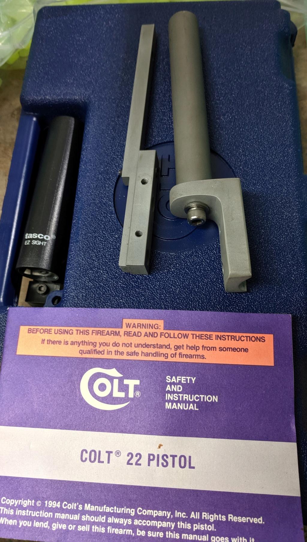 Colt 22 Pistol Img_2202