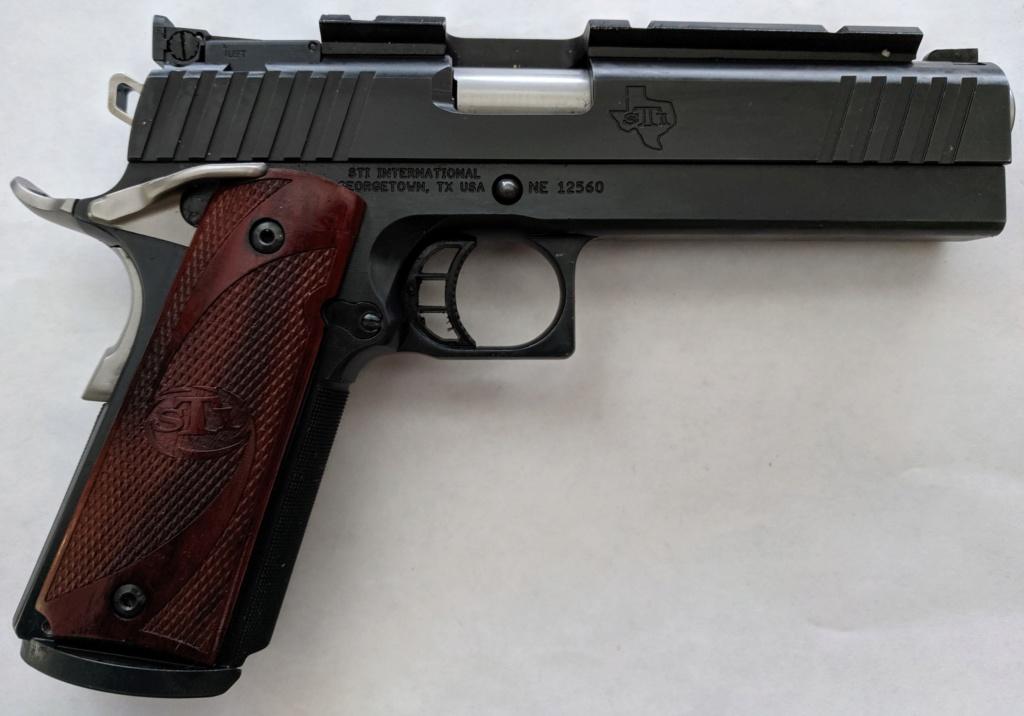 Sold Pending Funds - STI 1911 Range Master 38 Super Img_2229
