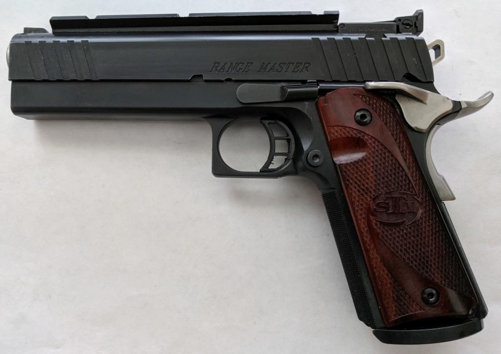 Sold Pending Funds - STI 1911 Range Master 38 Super Img_2230